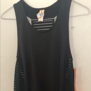 Lucy Activewear Racerback Dress Mesh See Through.